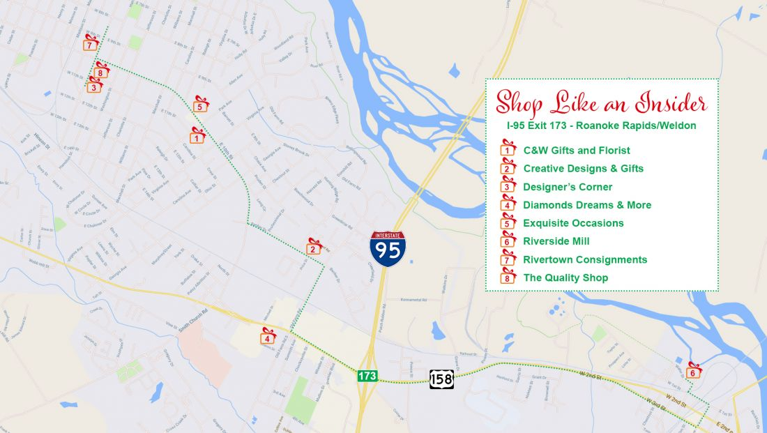 Shop Like a Roanoke Rapids Insider