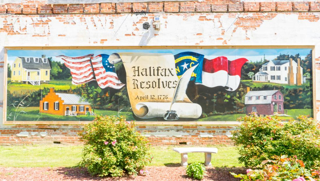Halifax Resolves Mural - Napoleon Hill